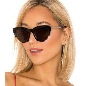 LPA X REVOLVE Gray in Black on Black Sunglasses UV